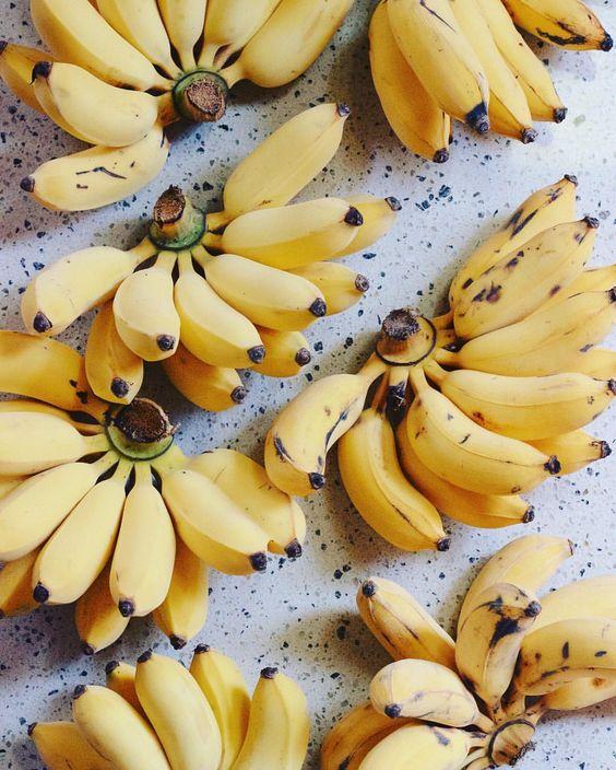 Alimentos contra el estrés y la ansiedad - Banana o plátano