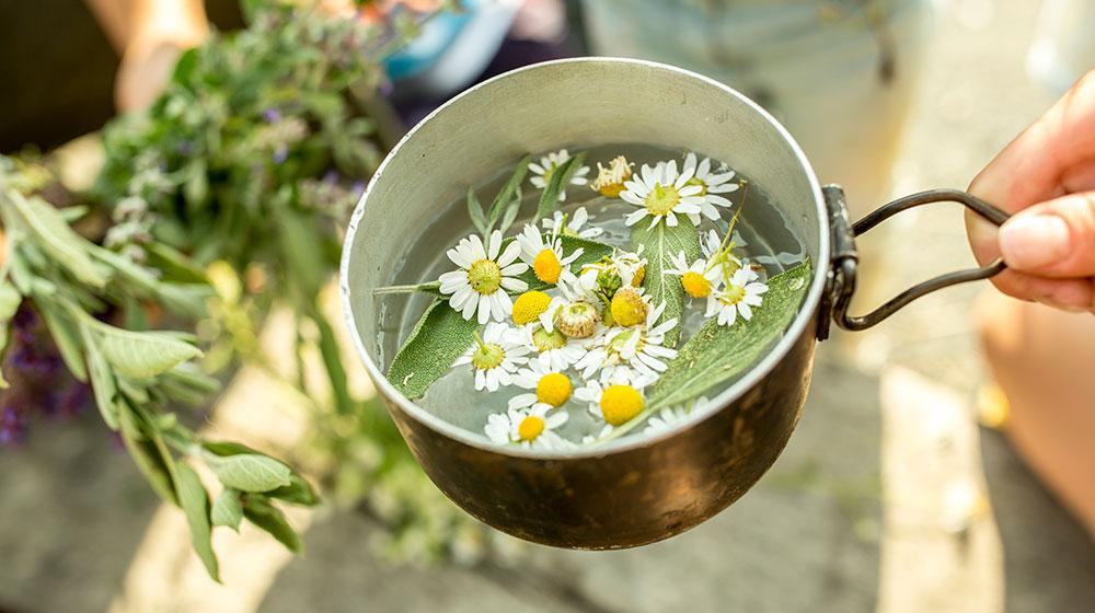 Alimentos contra el estrés y la ansiedad - Té de manzanilla o tilo