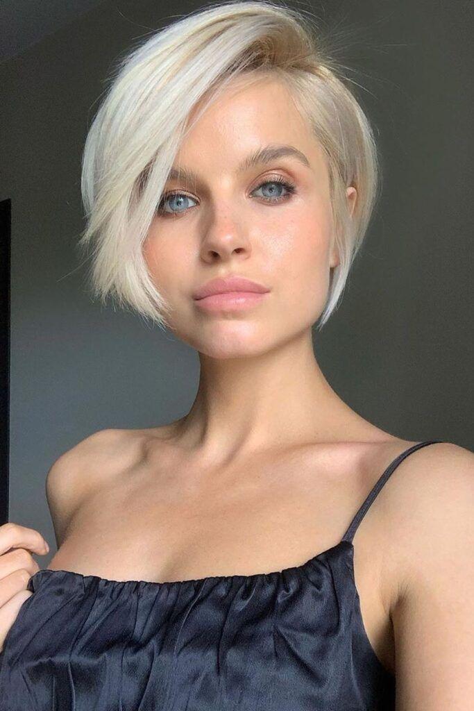 Ideas de cortes pixie para chicas atrevidas - Hasta la barbilla