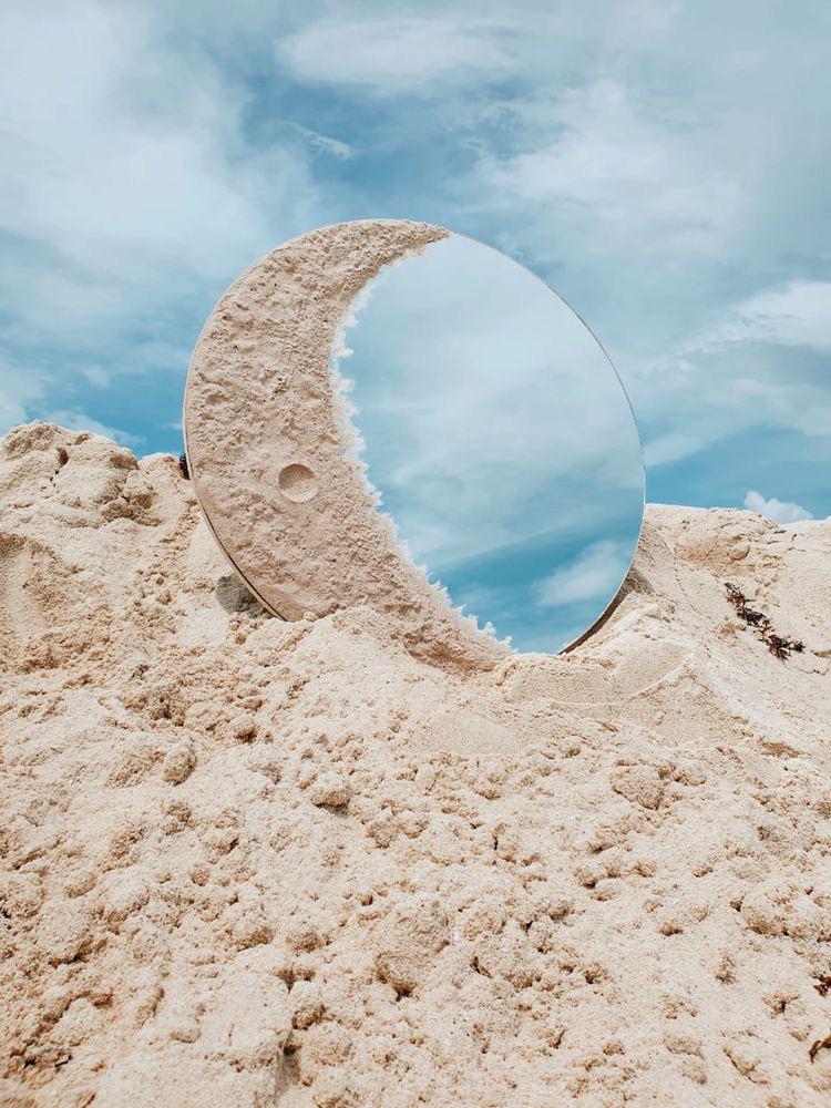 Increíbles ideas decorativas con espejos - Crater Lunar
