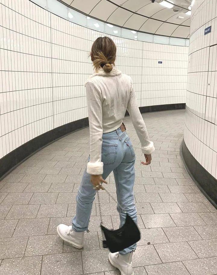 Looks mega fashion ¡con tenis! - Jeans