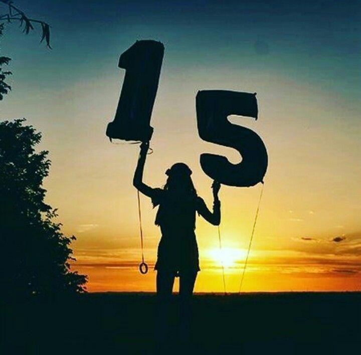 Poses para fotos de cumpleaños con globos - Sunset
