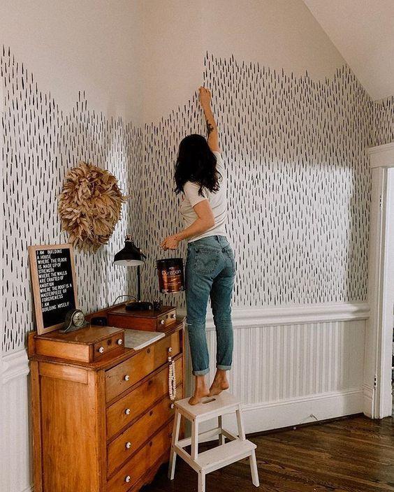 Ideas para decoraciones de pared caseras - Arte a mano