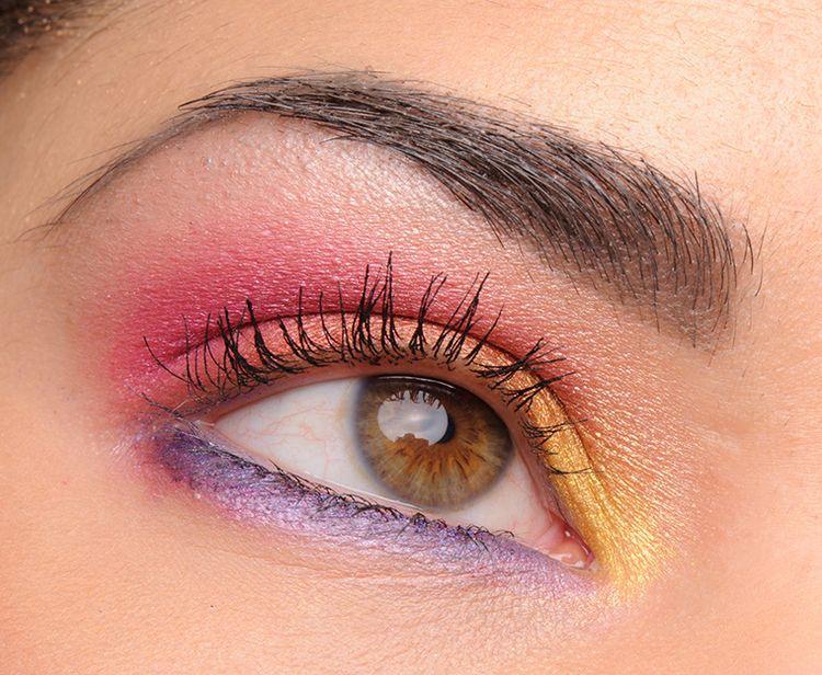 Sombras de ojos ideales para ir la escuela - Colores Pasteles