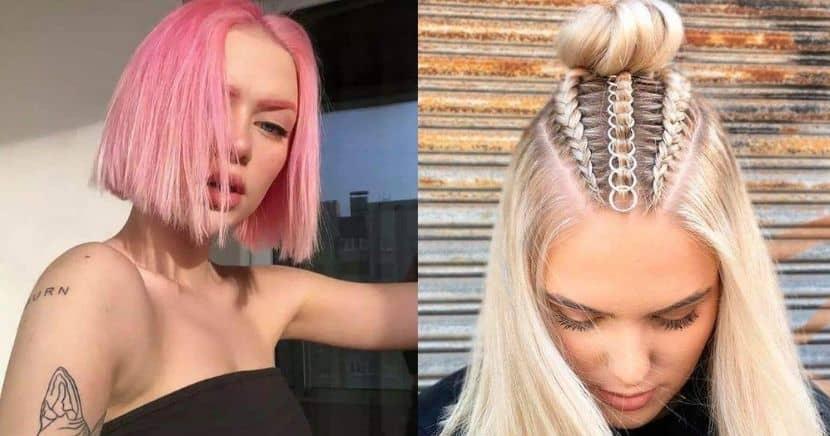 Peinados aesthetic para chicas con cabello corto