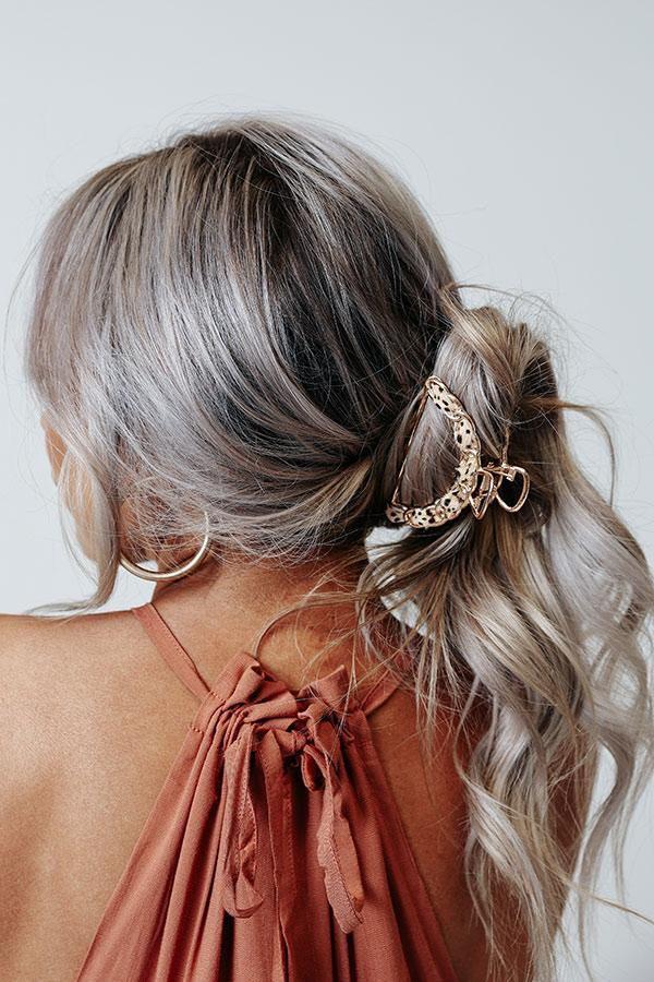 Peinados sencillos para chicas con cabello lacio - Pinzas