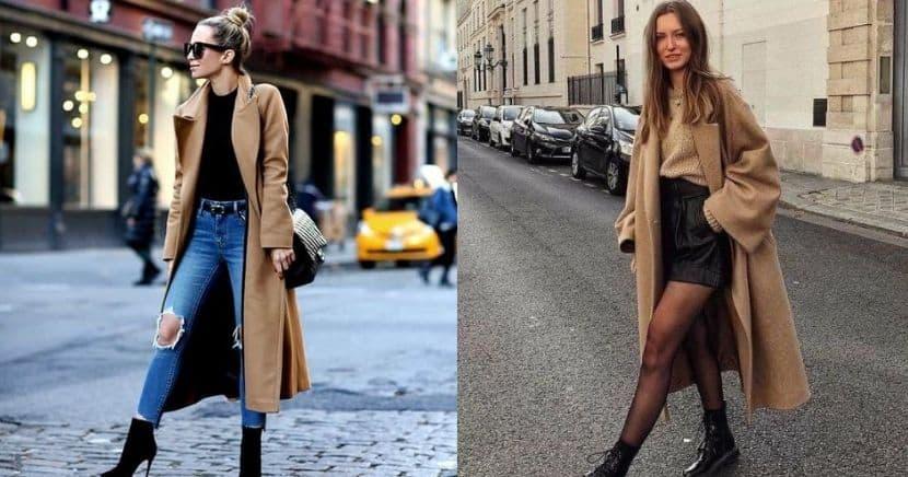Formas increíbles de usar un abrigo camel