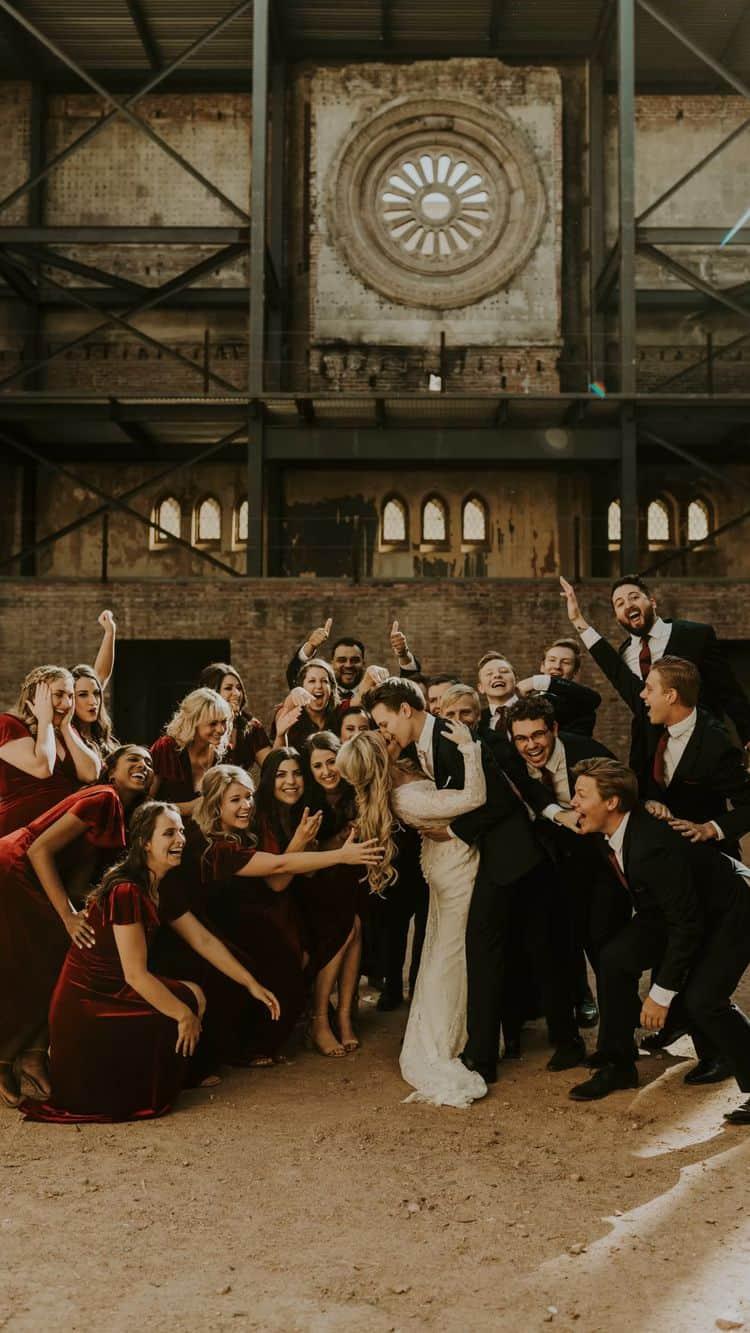Ideas para fotos que debes intentar en tu boda - El momento más feliz de tu día especial