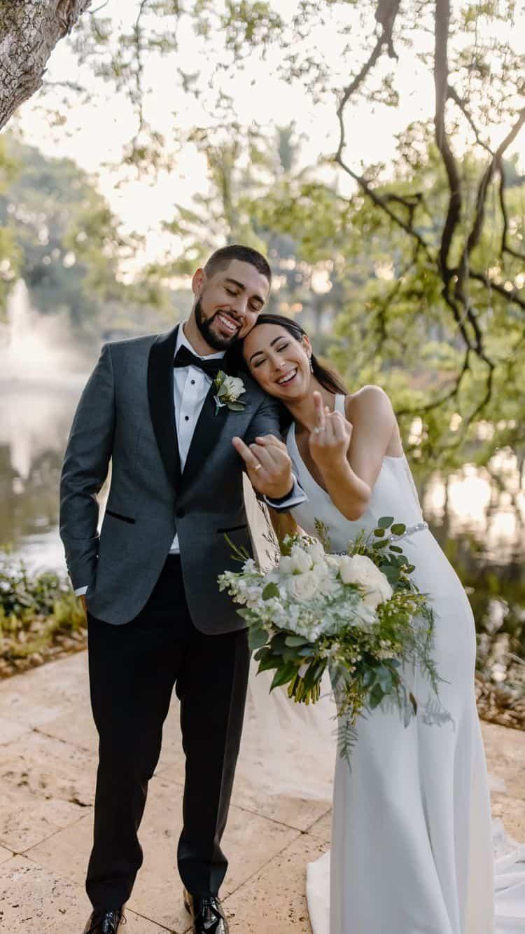 Ideas para fotos que debes intentar en tu boda - El lazo que siempre los unirá