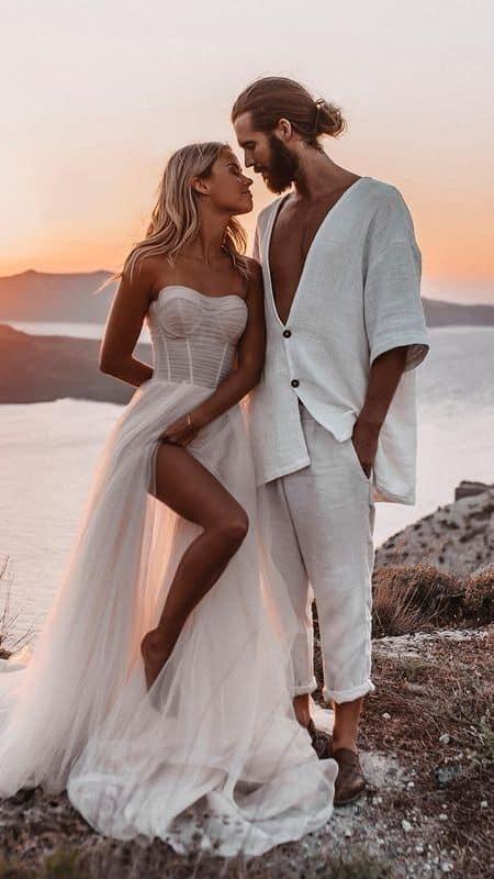 Ideas para fotos que debes intentar en tu boda - ¡Presume tu vestido!